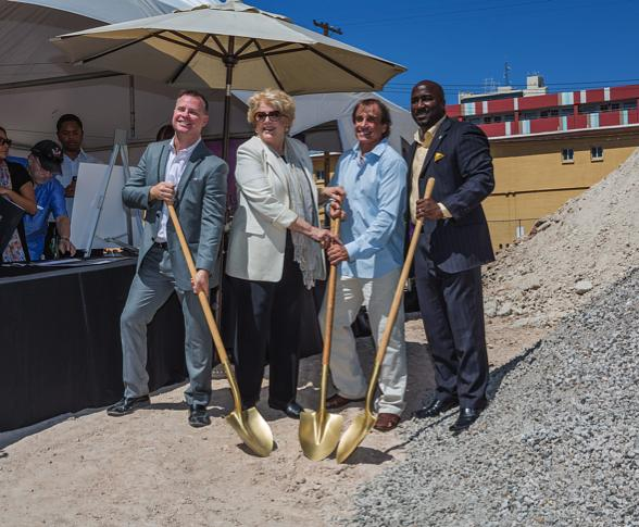 The Venue Las Vegas Breaks Ground in Downtown Las Vegas