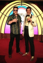 Tommy Lama meets The Gazillionaire at Las Vegas Laugh Factory