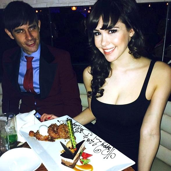 """PIN UP"" star Claire Sinclair celebrates Birthday at STK in Las Vegas"