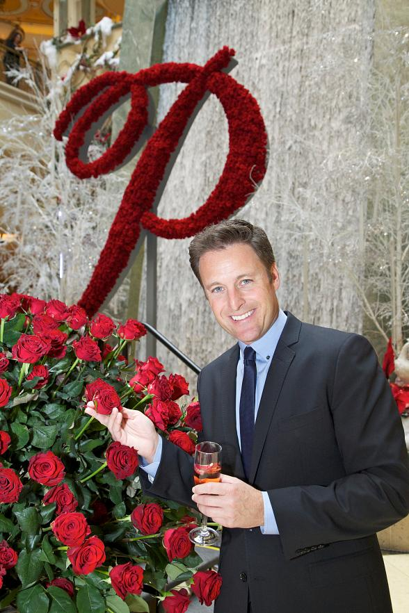 "Chris Harrison, Host of ABC-TV's ""The Bachelor,"" Unveils Newest Member of the Rose Family - The Palazzo Rose"