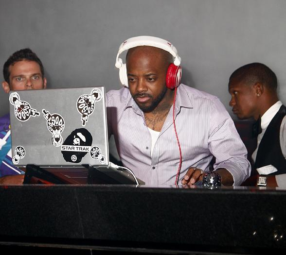 Jermaine Dupri at Prive Las Vegas