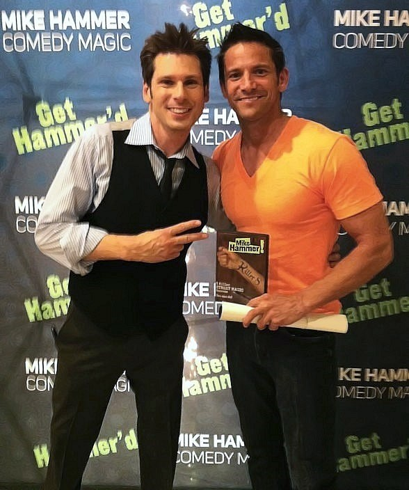 Mike Hammer and Jeff Timmons at The Four Queens