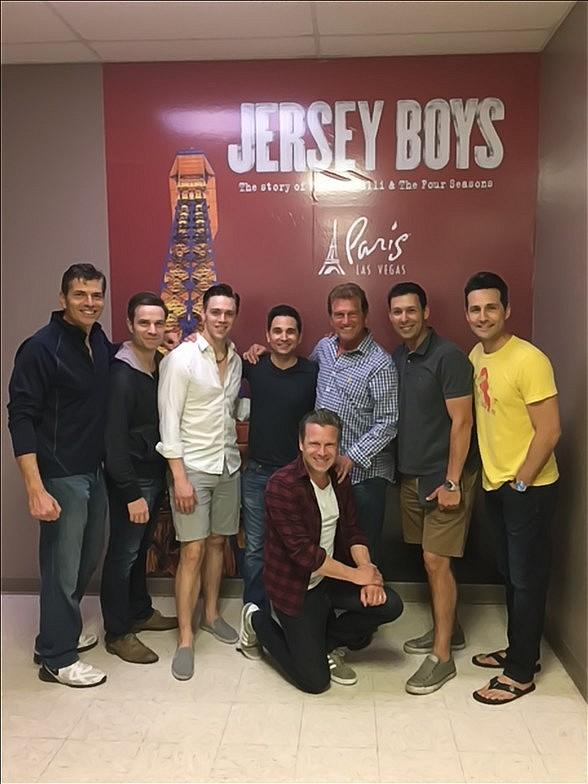 "Former NFL Quarterback and Sports Commentator Joe Theismann attends ""Jersey Boys"" at Paris Las Vegas"
