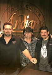 "Benghazi Heroes Kris ""Tanto"" Paronto and John ""Tig"" Tiegen, and Country Singer Ryan Weaver, spotted at the D Casino Hotel"