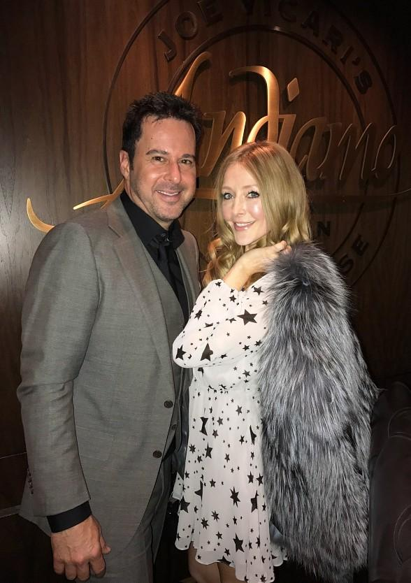 Jonathan Silverman, Jennifer Finnigan and Chris McKenna party at the D Casino Hotel in Las Vegas
