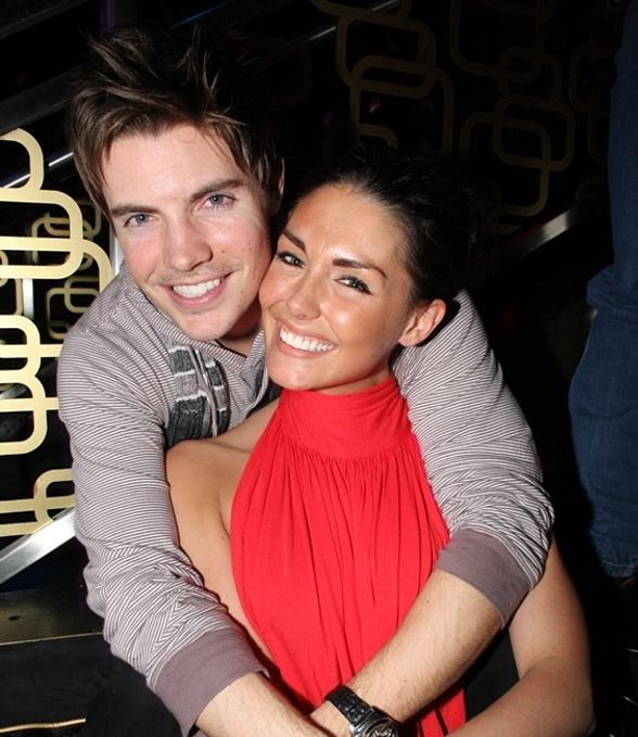Josh Henderson and Taylor Cole (girlfriend) at The Bank (Photo courtesy of The Light Group)