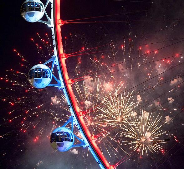 Las Vegas' Most Patriotic Spot will be The LINQ Promenade this Fourth of July Weekend