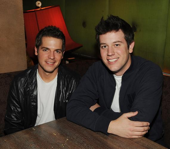 Ben Lyons and Jason Kennedy, both from E!