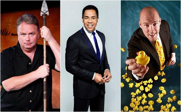 "Meet ""Defending the Caveman"" Star Kevin Burke, Entertainer Earl Turner and Comedy Magician Adam London at the 3rd Annual ""Mike Hammer Celebrity Go-Kart Race,"" a Benefit for Veterans on Oct. 22 in Las Vegas"