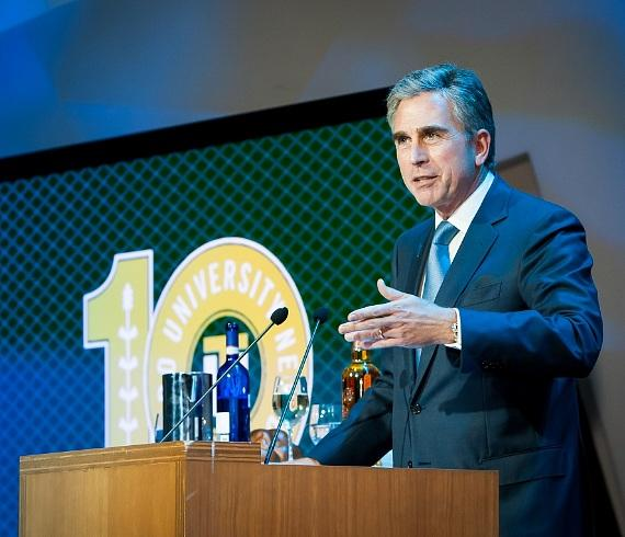 Keynote address by City National Bank Chairman and CEO Russell Goldsmith