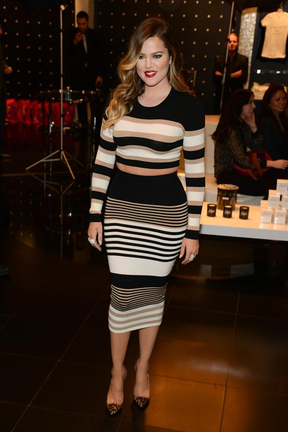 Khloe Kardashian Appears at Kardashian Khaos at The Mirage Hotel & Casino in Las Vegas