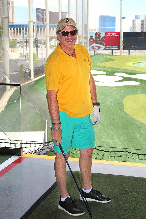 Country Music Star Kix Brooks spotted at Topgolf Las Vegas