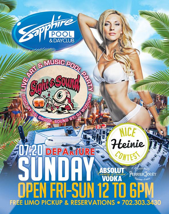 "Sapphire Pool & Day Club in Las Vegas to Host ""Departure Sunday"" on July 20"