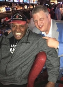 Celebrity Sightings: Leon Spinks, Horny Mike and Shorty Rossi at the D Las Vegas on Super Bowl Weekend