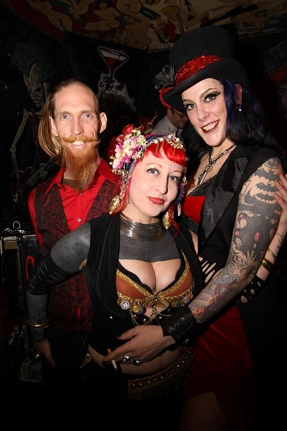 Andrew S., Kelvikta the Blade and Jenn O. Cide