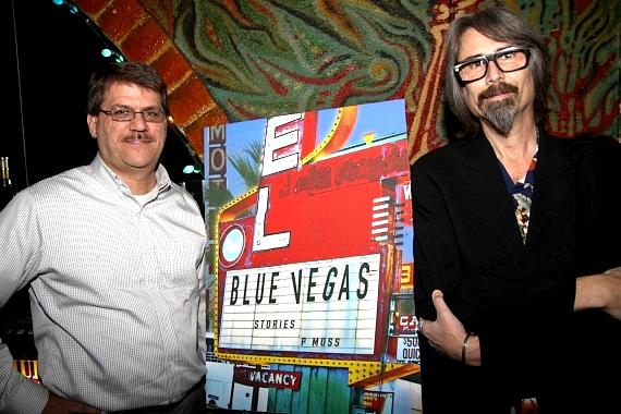 Geoff Schumacher, editor CityLife Books and author P Moss
