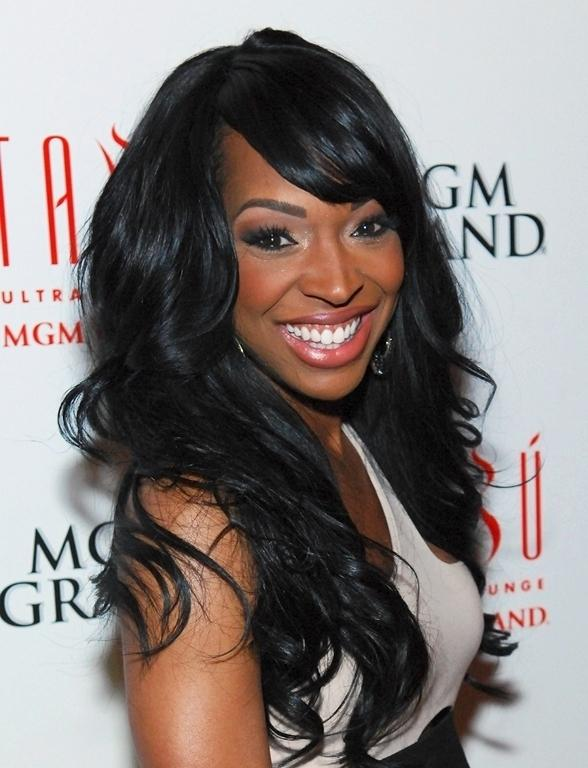 Malika Haqq Celebrates Birthday at Tabú Ultra Lounge