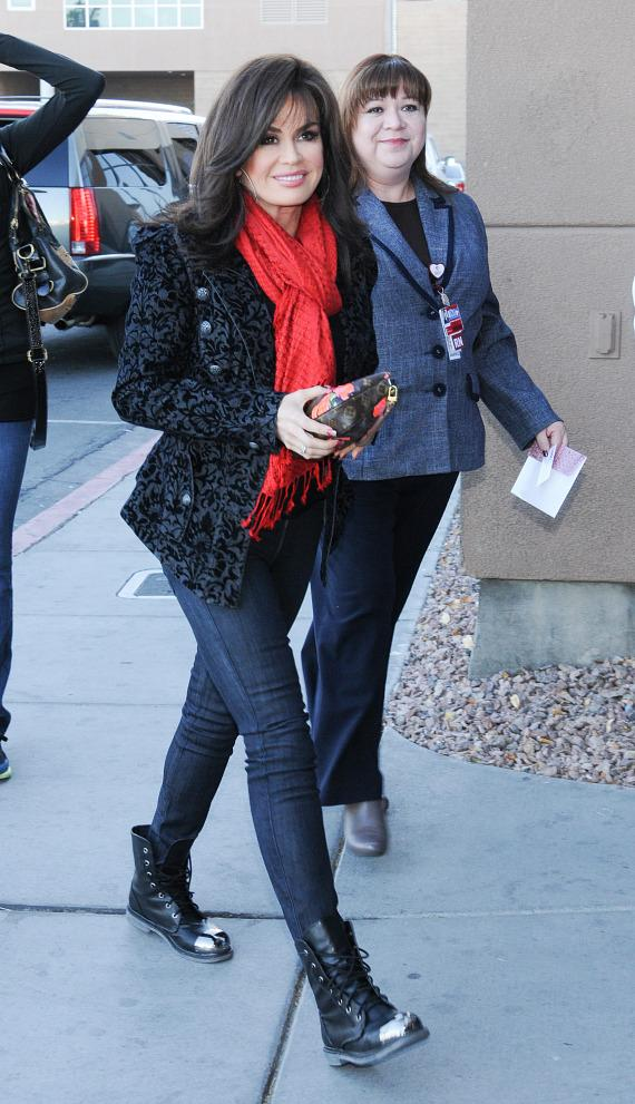 Marie arrives at Children's Hospital of Nevada at University Medical Center