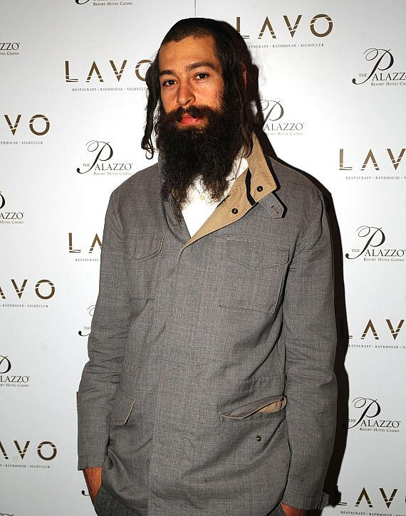 Matisyahu celebrates at LAVO following his sold out concert (Photo credit: Bryan Haraway).