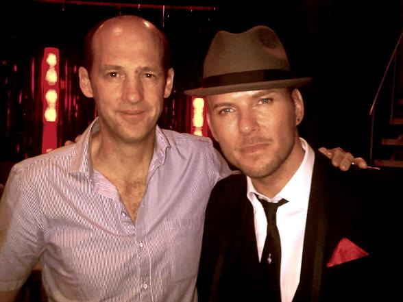Anthony Edwards and Matt Goss
