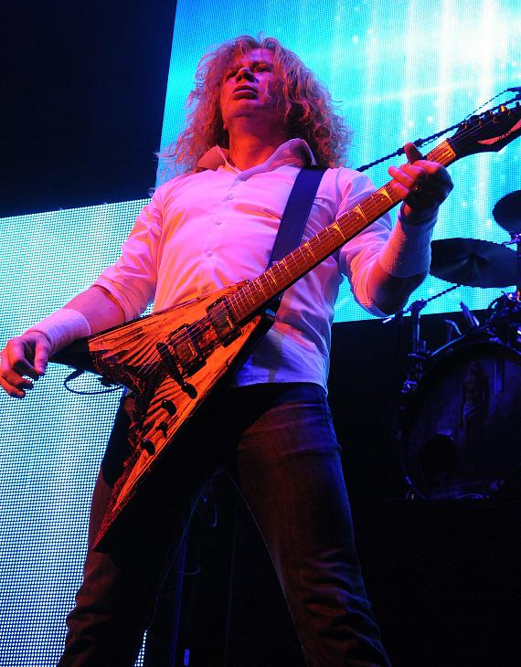 Dave Mustaine of Megadeth at House of Blues