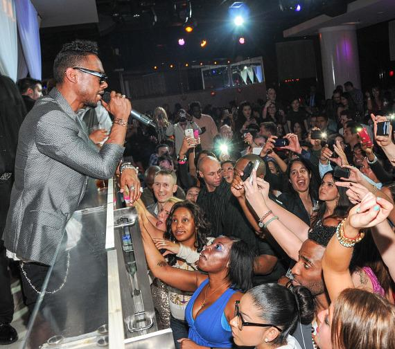 Miguel performs at PURE Nightclub