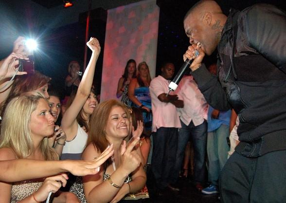 Mike Jones performs at JET Nightclub