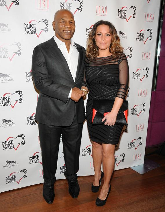 Mike Tyson and Angie Martinez