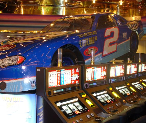 Binion's Adds Exclusive Miller Lite Slot Machines