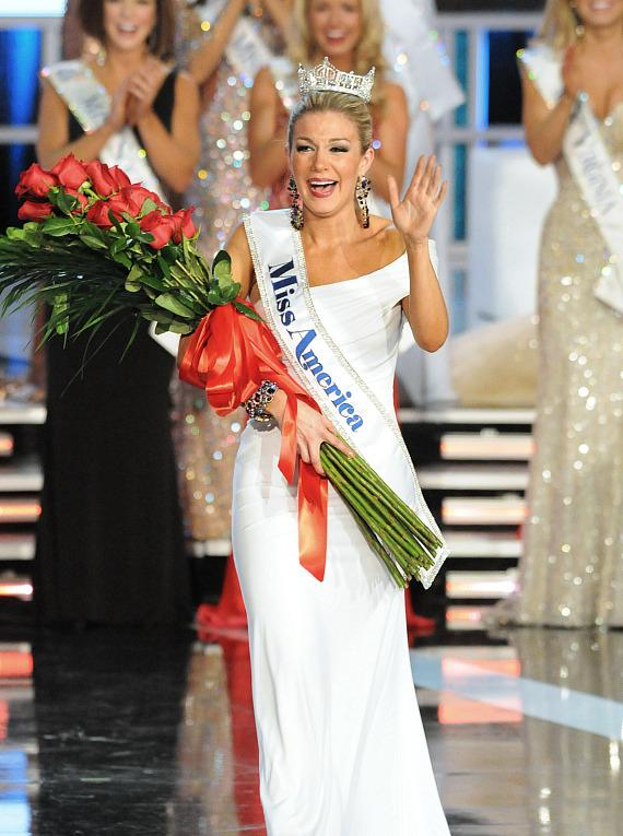Miss America 2013 Mallory Hytes Hagan crowned in Las Vegas