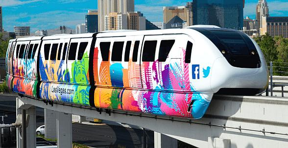 Las Vegas Monorail to Stay Open 44 Hours Straight for New Year's Revelers;  Offers $1 Fares for Locals