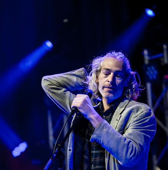 Reggae singer Matisyahu performed at Brooklyn Bowl Las Vegas