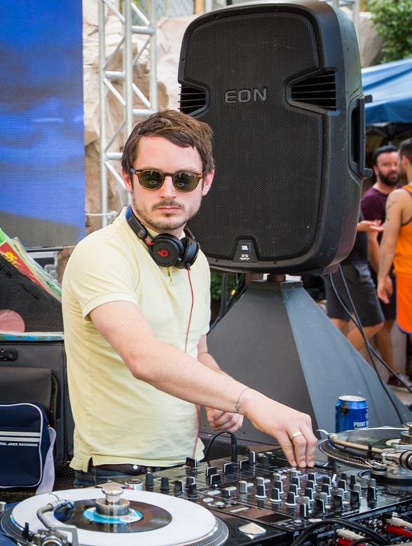 Wooden Wisdom: Elijah Wood and Zach Cowie DJ Set at REHAB
