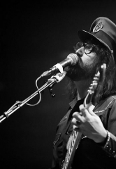The Claypool Lennon Delirium, featuring Les Claypool and Sean Lennon, perform at Brooklyn Bowl Las Vegas
