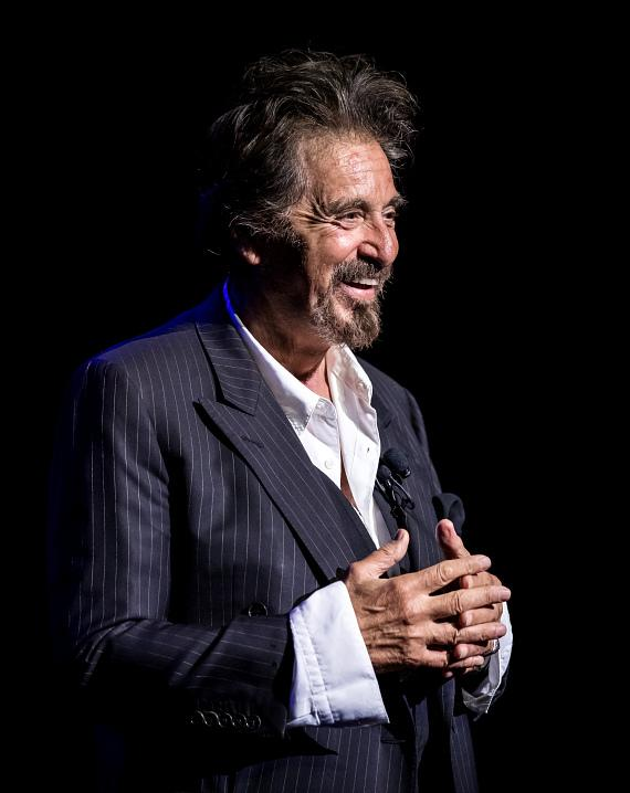 """An Evening with Al Pacino"" at The Venetian Las Vegas Offered a Rare, Intimate Look into the Iconic Actor's Career"