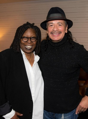 "Whoopi Goldberg Celebrates 60th Birthday by attending ""An Intimate Evening with SANTANA"" at House of Blues Las Vegas"