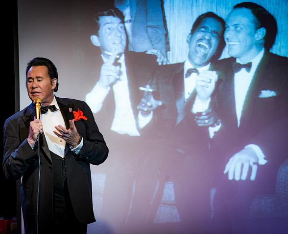 "as Wayne Newton in ""Wayne Newton: Up Close and Personal"" at Bally's Las Vegas"