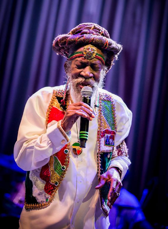 Bunny Wailer performs at Brooklyn Bowl Las Vegas at The LINQ in Las Vegas