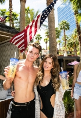 "Lala Kent and James Kennedy of ""Vanderpump Rules"" host Memorial Day at Rehab Pool Party at Hard Rock Hotel & Casino"