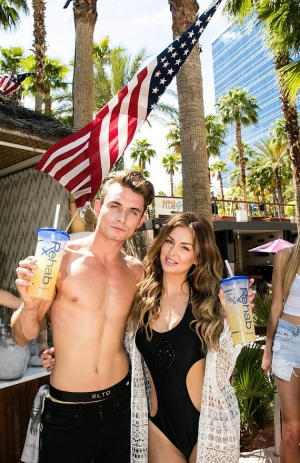 Lala Kent and James Kennedy of Vanderpump Rules host Memorial Day at Rehab