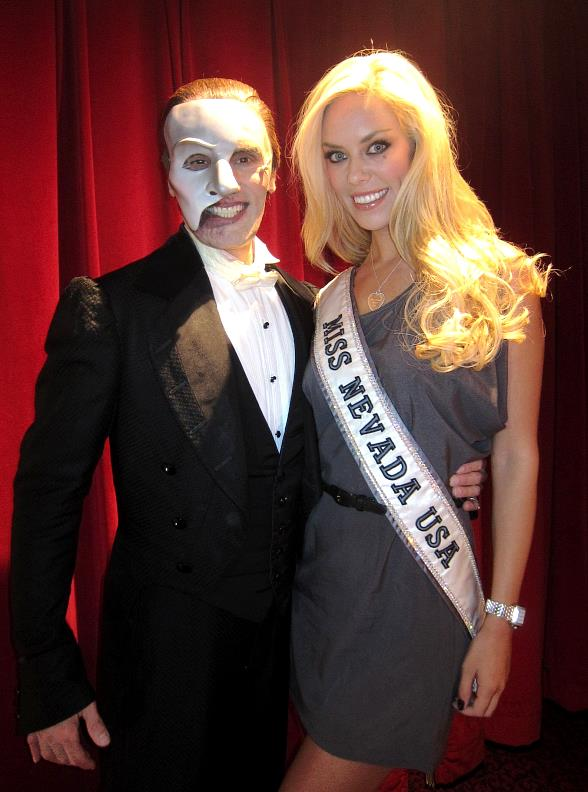Anthony Crivello and Miss Nevada USA 2011 Sarah Chapman