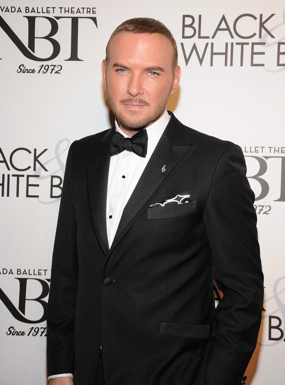 Matt Goss at NBT's Black & White Ball