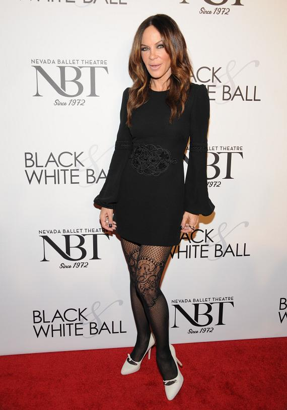 Robin Antin at NBT's Black & White Ball