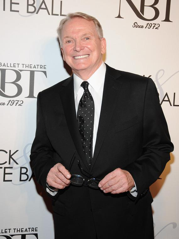 Bob Mackie at NBT's Black & White Ball