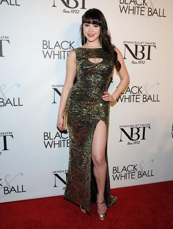 Claire Sinclair at NBT's Black & White Ball