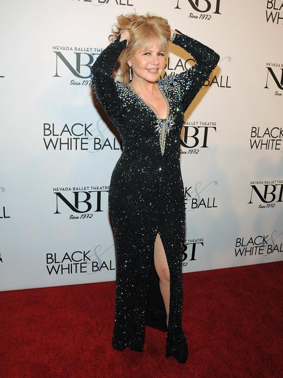 Pia Zadora at NBT's Black & White Ball