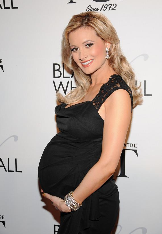 Holly Madison at NBT's Black & White Ball