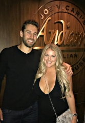 NHL Record-Breaking Goalie Cam Talbot dines at Andiamo Italian Steakhouse in Las Vegas