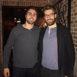 Exclusive! NHL Players Alex Tuch and Ian McCoshen Dine at Andiamo Italian Steakhouse