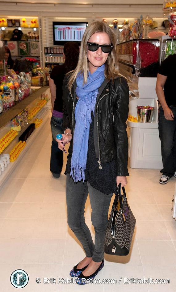 Nicky Hilton at the Sugar Factory at Planet Hollywood Miracle Mile Shops